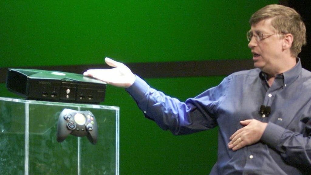 Bil Gates em evento do Xbox