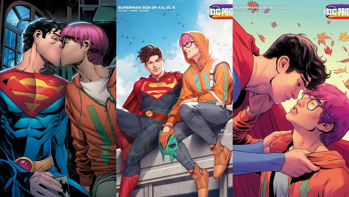 New DC Comics Superman Jon Kent Is Bisexual - Nerdist
