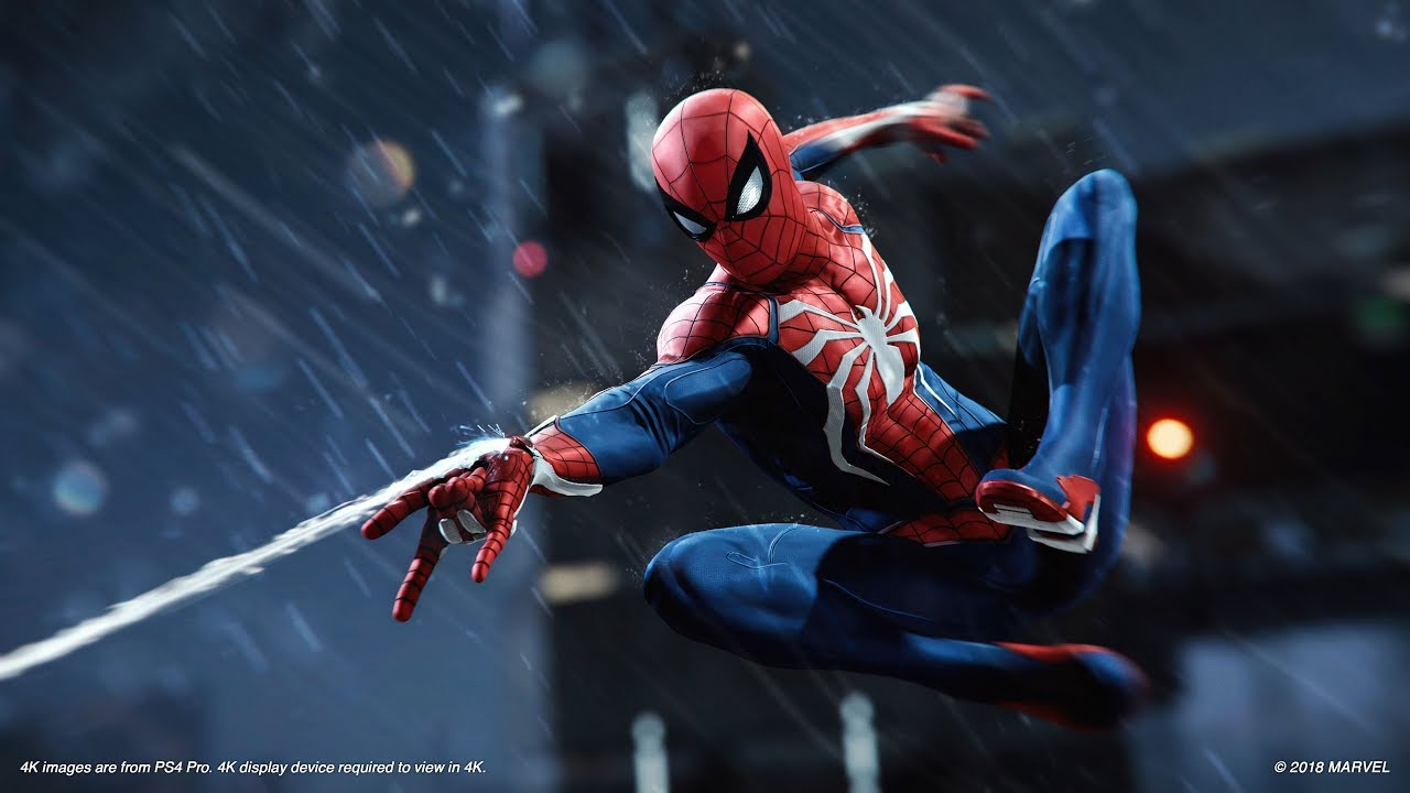 Marvel's Spider-Man – E3 2018 Gameplay   PS4 - YouTube